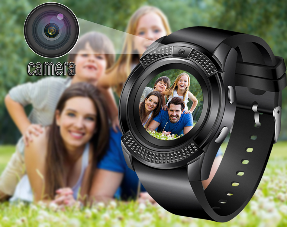 BANGWEI Men Women Smart Watch WristWatch Support With Camera Bluetooth SIM TF Card Smartwatch For Android Phone Couple Watch 8