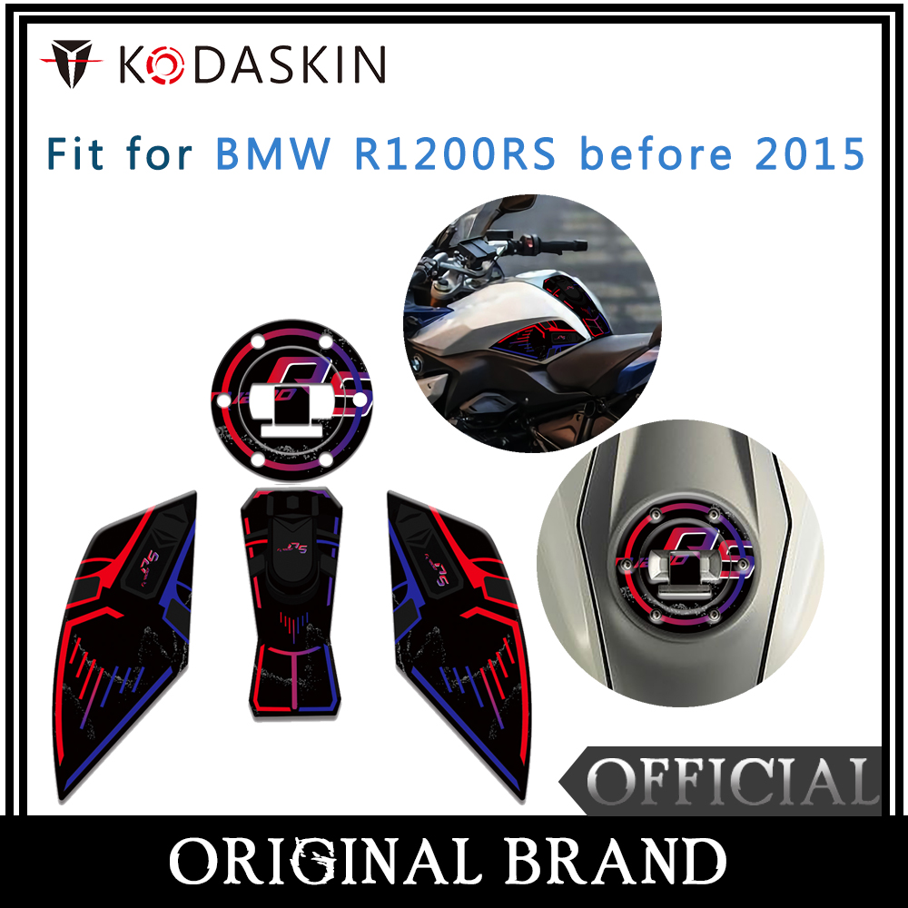 KODASKIN Fuel Tank Cap Sticker Fish Sticker Sticker Fit For BMW R1200RS Before 2015 in Decals Stickers from Automobiles Motorcycles