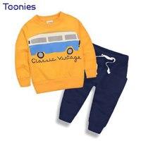 Autumn Child Clothing Sets Girl S Clothes Cartoon Printing Sports Wear Girls Suits School Uniform Suit