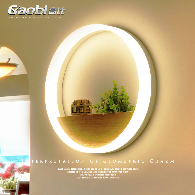 Modern Novelty Wall light round wall sconces LED bedroom bedside lamp simple living room fixtures corridor aisle wall lamps contemporary elegant crystal drops wall light living room bedroom bedside lamp mirror hallway light fixtures wall sconces wl194