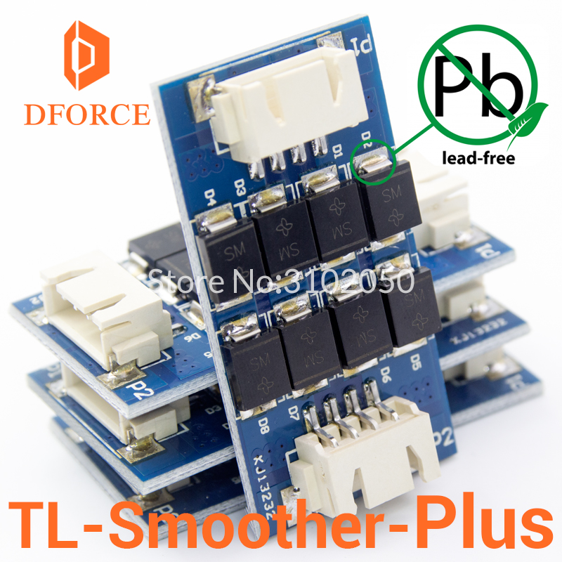 DFORCE 4 pieces/pack TL-smoother PLUS addon module for 3D pinter motor drivers motor Driver Terminator reprap mk8 i3