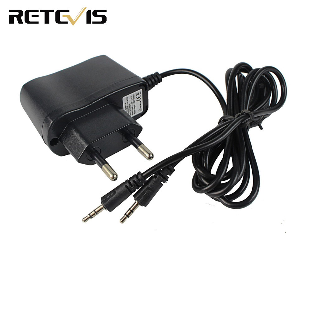 2 In 1 Charger Input 110-240V Output 5V 1A AC Adapter Charger For Kids Walkie Talkie Retevis RT388 J7027C