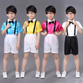 Host Children Student Academic Dress School Uniforms Kid Graduation Costumes Kindergarten Girl Dr Class Suit Boys School Suits