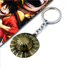 Monkey D Luffy Straw Hat Keychain Pendant
