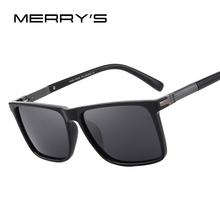 MERRY'S DESIGN Men Polarized Rectangle Sunglasses 100% UV Pr