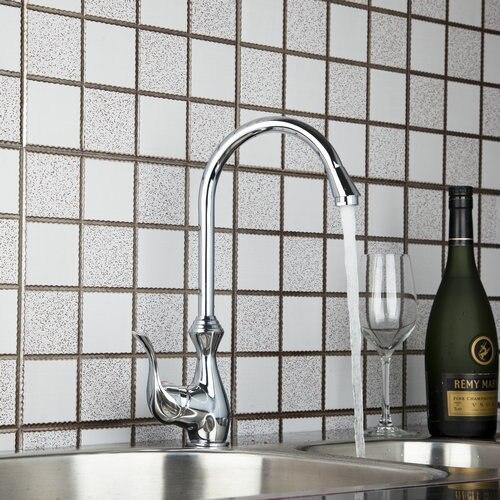 Vase Style Slive Polished Chrome Kitchen Torneira Hight Sale Swivel 8498 4 Basin Sink Water Tap