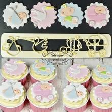 Yueyue Sugarcraft Baby plastic fondant cutter cake mold fondant mold  fondant cake decorating tools sugarcraft