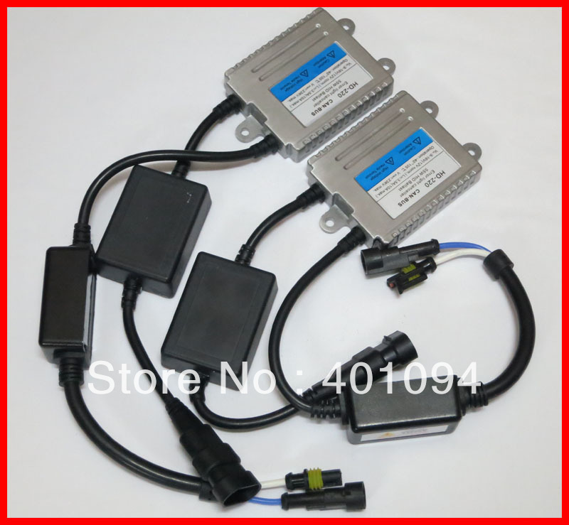 35W HID Conversion Kit CANBUS Ballast Error Light Canceller Replacement For Auto