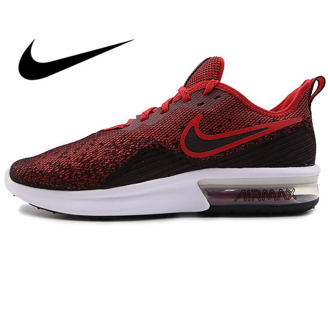 Original New Arrival 2018 NIKE AIR MAX SEQUENT 4 Men s Running Shoes  Sneakers Sport Outdoor Comfortable Breathable AO4485 c3f842d97