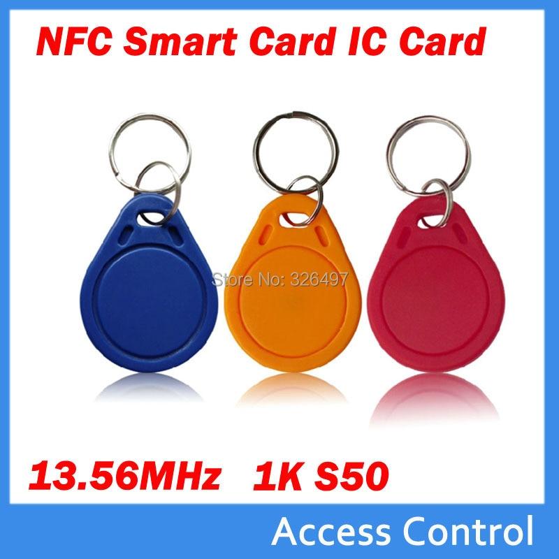 NFC Smart IC Card Key Tag 13.56MHz USB RFID Read Write Keychain for Arduino DIY
