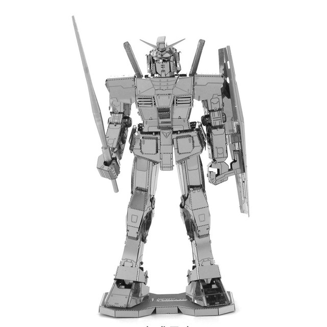 3D Металла DIY GUNDAM Игрушки Трансформация Автоботов Модели DIY Лобзики Головоломки Подарки