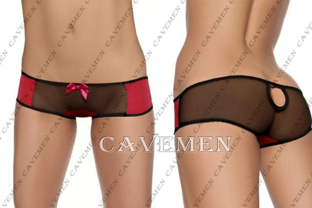 Atraente Low-cintura * 2728 * sexy G-corda T-back Teddy Bikini Triângulo Boxeador Pijama Terno de Saia Médio calças Frete Grátis