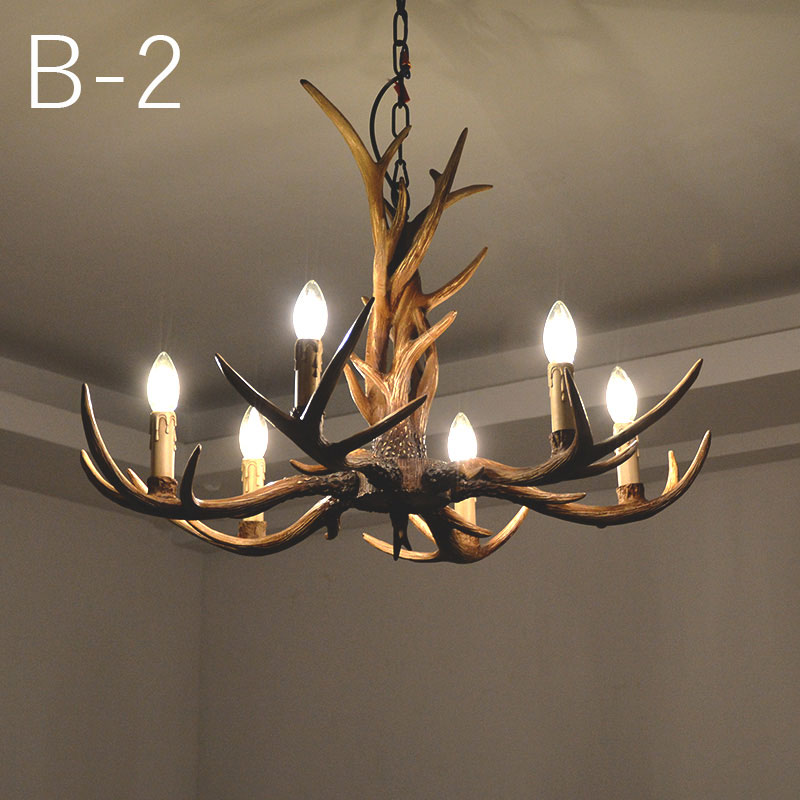 Horsten nordic style 6 heads candle antler pendant lamp europe horsten nordic style 6 heads candle antler pendant lamp europe countryside retro resin deer horn pendant lights decoration light in pendant lights from aloadofball Image collections