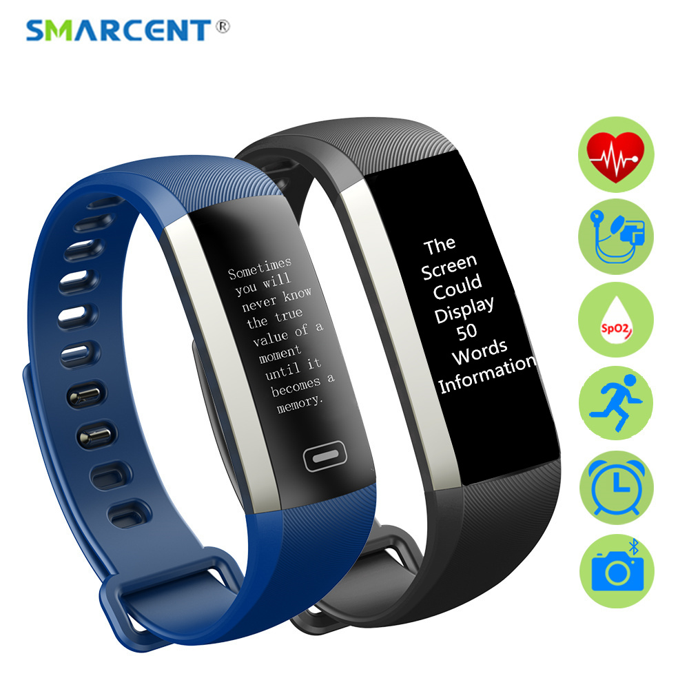 SMARCENT M2 Pro R5MAX Bluetooth font b Smart b font Band Heart Rate Blood Pressure Monitor