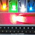 Бесплатная доставка 100 шт 0603 SMD Led диод супер яркий красный/зеленый/синий/желтый/белый LED свет