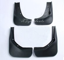 High Quality 4PCS Soft Plastic Fenders Mudguards For Ford Maverick 2013