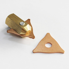 triangle plates with adapter tri-hook washer chuck holder dent puller slide hammer spot welding stud gun autobody car bodywork 11pcs dent puller kit spot welding tri hook washer pads with brass holder chuck for automotive car body repair spotter hand tool