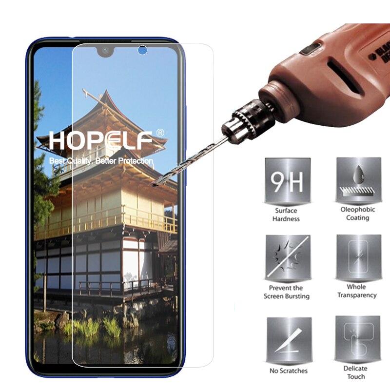 100% QualitäT Hopelf Gehärtetem Glas Für Xiaomi Redmi Hinweis 7 Screen Protector 9 H 2.5d Auf Schutz Glas Für Xiaomi Redmi Hinweis 7 Glas Modische Und Attraktive Pakete