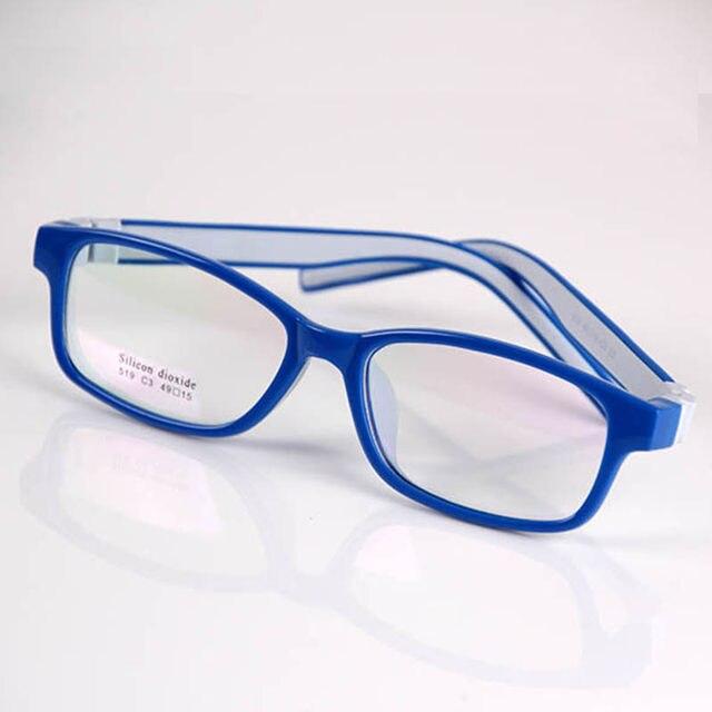 Tienda Online Clásico niños seguro silicona claro lente óptica gafas ...