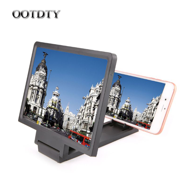 NEW 3D Screen Amplifier Mobile Phone Magnifying Glass HD Stand For Video Folding Screen Enlarged Eyes Protection Holder