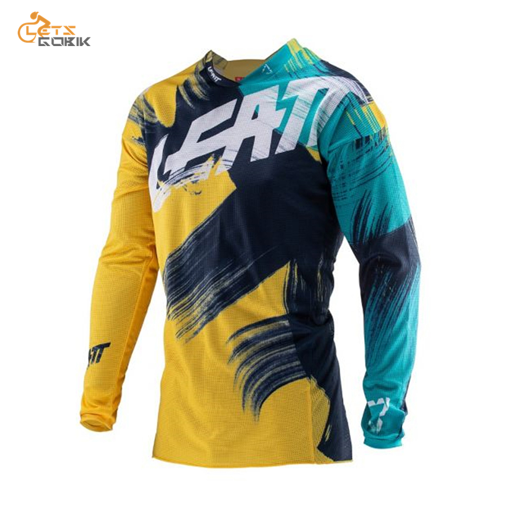 Mtb Jersey Moto Long-Sleeve Maillot-Ciclismo Mountain-Spexcec Clycling Dh Off-Road Hombre