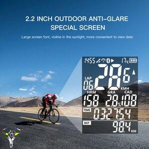 Image 3 - Водонепроницаемый велосипедный компьютер с i GPS портом IGS50E ANT + беспроводной GPS IPX6, цифровой спидометр, Bluetooth 4,0, подсветка велосипеда