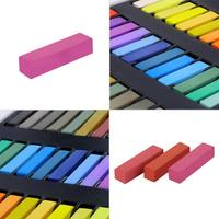 36 Colors Disposable Fluorescent Crayons Hair Coloring Rod Hair Coloring Chalk Y913