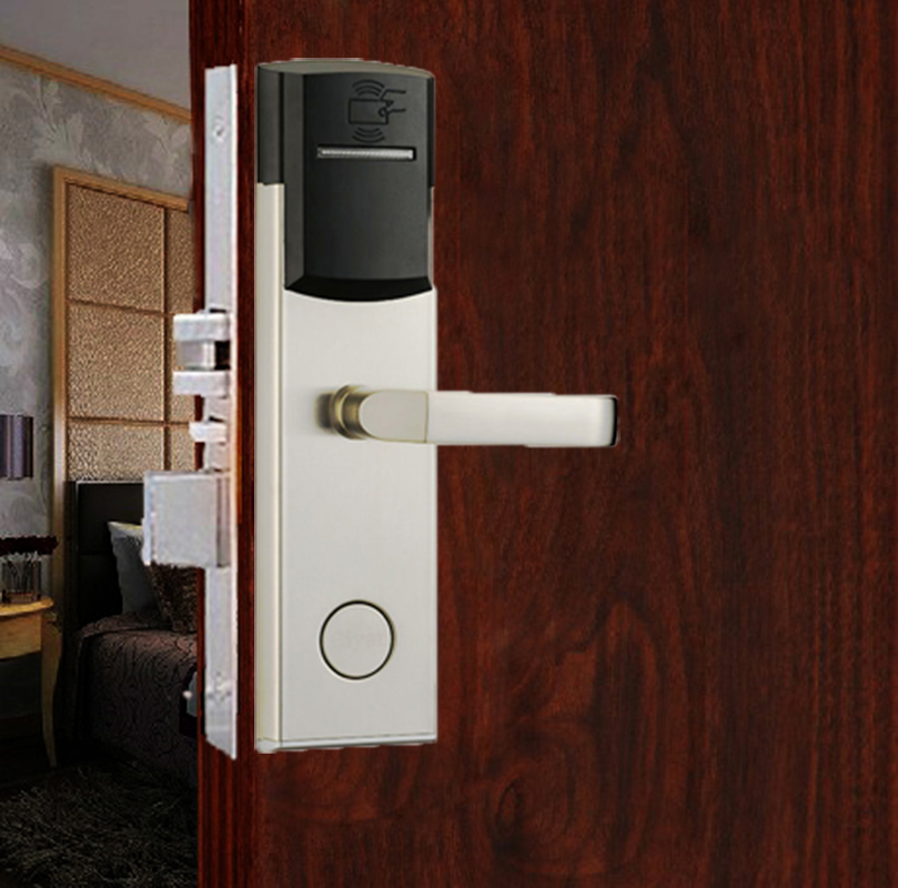 China Selling Magnetic Smart Card Hotel Door Lock For Sale