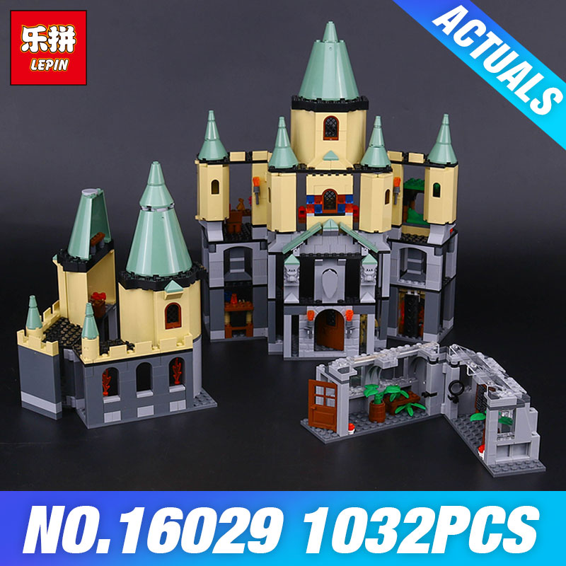 Lepin 16029 The Magic hogwort castle set Genuine 1033Pcs Movie Series 5378 Educational Building Blocks Bricks Toys Model Gifts