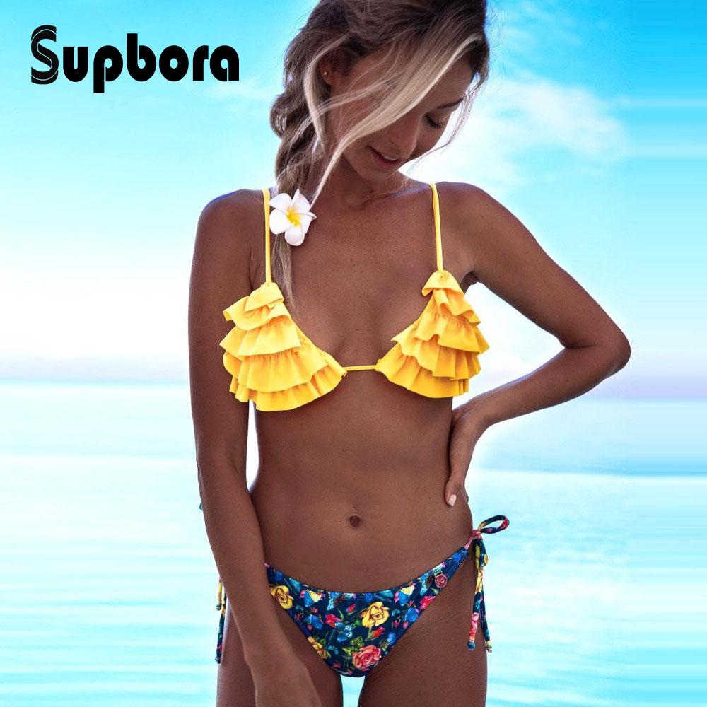 f9d26f05bb92 2019 nuevo Bikini Sexy traje de baño mujer traje de baño colmena Bikinis  mujeres traje de baño Biquini señoras Bikini brasileño conjunto de playa