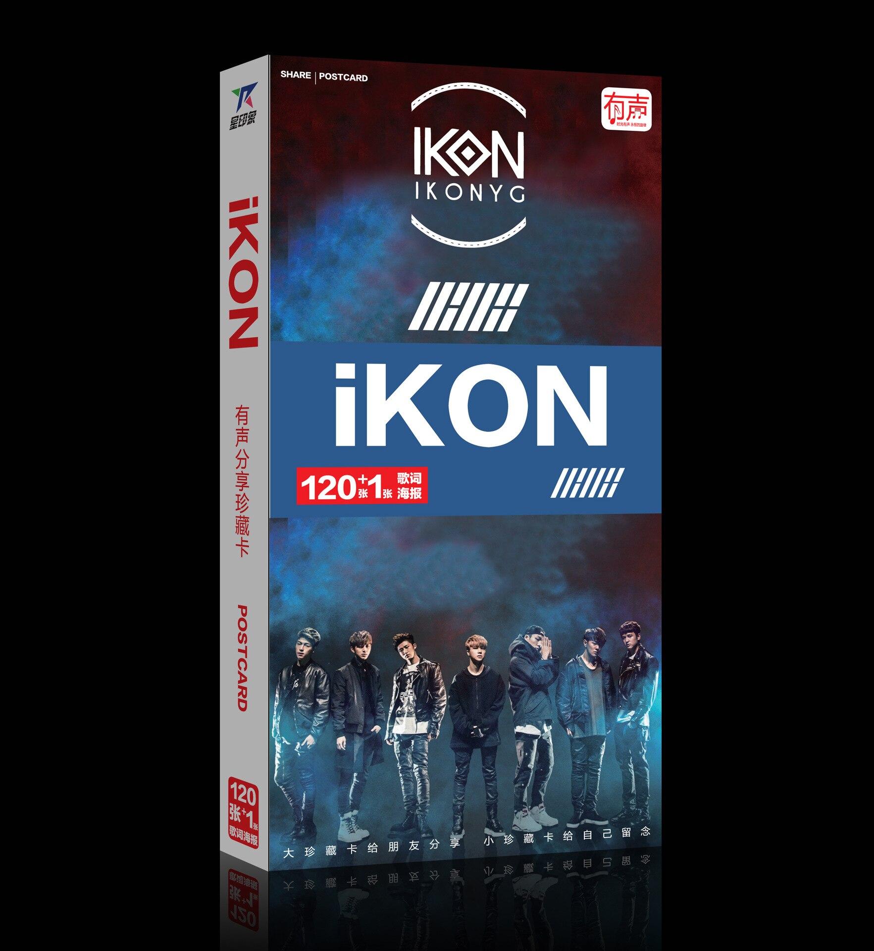 Nice Kpop Bts Got7 Exo Cnblue Infinite Bigbang G-dragon Album Artbook Postcard Sticker 120cards+1poster Bookset Photo Gift Collection Hoodies & Sweatshirts