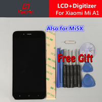 Xiaomi A1 Screen LCD Display Touch Screen 5 5 FHD Test Good Digitizer Assembly Replacement For