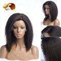 Brazilian Lace Front Wig 8A Full Lace Human Hair Wigs Coarse Yaki Lace Front Human Hair Wigs Kinky Straight Full Lace Wig
