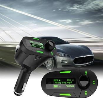 2017 NEW Car Styling Kit MP3 Music Player Wireless FM Transmitter Radio Modulator With USB MMC+ Remote Control Automobiles HOT