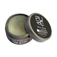 PURC Hair Styling Clay Gel for Men Strong Hold Hair Wax Matte Finished Molding Cream High Hold Low Shine Hair Clay pomade Makeup