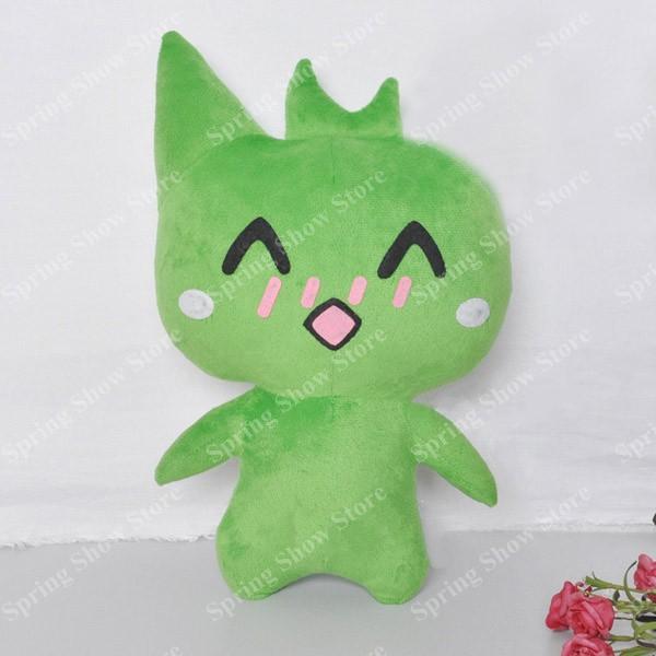 Mogeko Castle The Cat Mogeko Anime 34cm Juguete Cosplay Stuffed & - Disfraces - foto 5