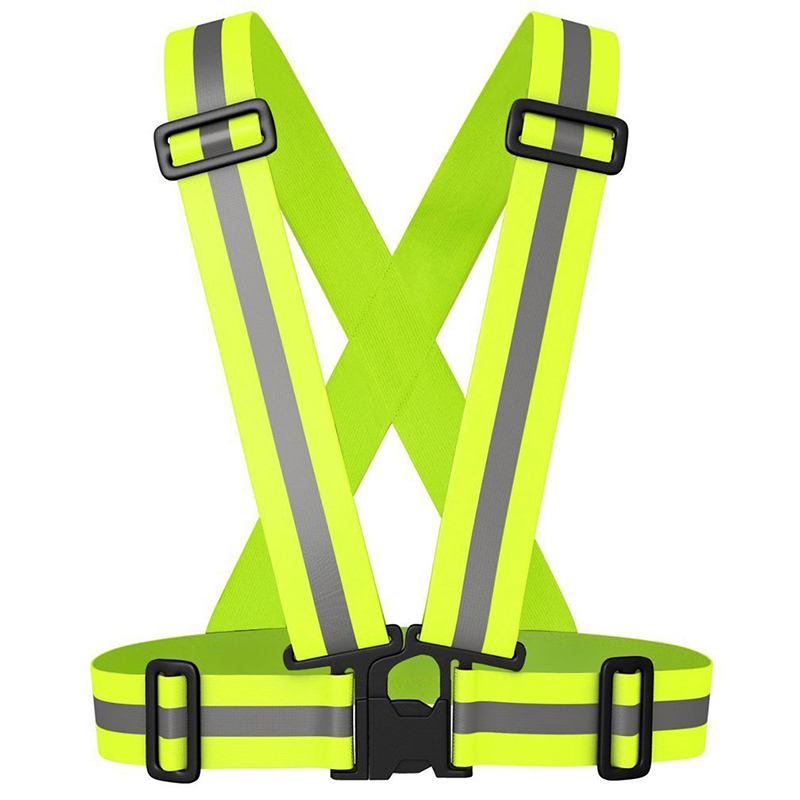 Bike Safe Reflective Safety Vest For Construction Traffic Warehouse Visibility Security Jacket Reflective Strips Wear Uniforms
