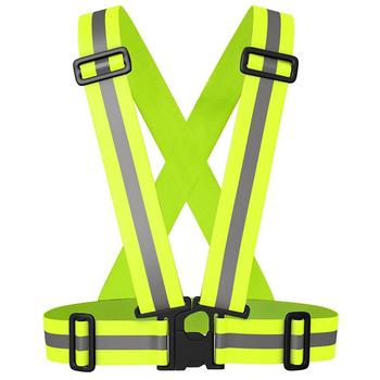 Bike Safe kamizelka odblaskowa do budowy ruchu magazynowego widoczność kurtka bezpieczeństwa paski odblaskowe nosić mundury tanie i dobre opinie Vest Jazda na rowerze Oxford NYLON Pasuje prawda na wymiar weź swój normalny rozmiar 201811101507 Wiatroszczelna