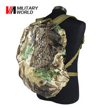 Military World 30L-40L Outdoor Dustproof Waterproof Camping Backpack Bag Rain Cover Nylon Hunting Camouflage Pack Case Cover!(China)