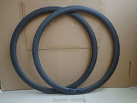 2Pcs New 700C 38mm Road Bike Matt Full Carbon Bicycle Wheels Clincher Rim With Basalt Brake