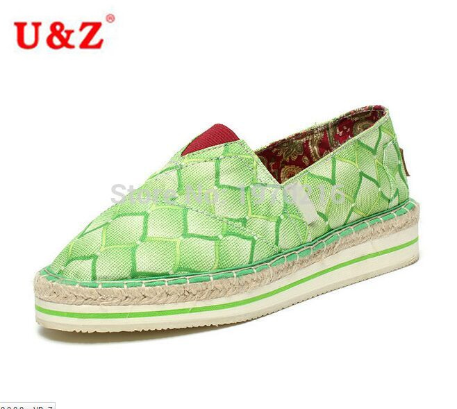 ФОТО 2016 Newest Breathable Women's Lavender Sponge Cake Rubber Soles Espadrilles,Girls Fashion comfort Canvas platform Flats Sale
