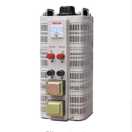 купить Single Phase Voltage Regulator Contact Regulator Input 220V Regulator 15KW Adjustable 0V-250V Power Converter TDGC2 по цене 26136.04 рублей