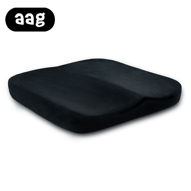 AAG Coccyx Orthopedic Memory Foam Seat Cushion Soft Comfort Seat Pads For  Car Office Home Chair