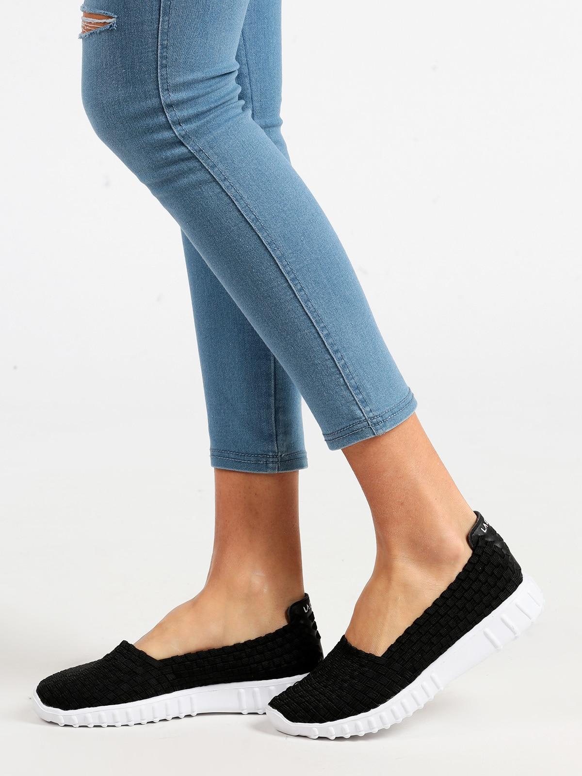 Low Sneakers Slip On Black