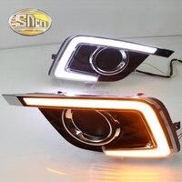SNCN LED Daytime Running Light For Nissan Sentra 2016 2017,Car Accessories Waterproof ABS 12V DRL Fog Lamp Decoration