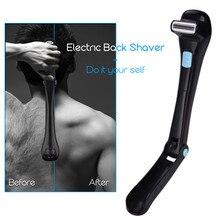 Do It Yourself Men Manual Back Hair Shaver Long Foldable Handle Back Leg Hair Shaver Razor Remover Body Trimmer Groomer Shaving
