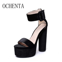 TIMETAWomen Sandals New Sexy High Heels Gladiator Sandals Women Ladies Fashion Contract Sweets Color Sexy Peep