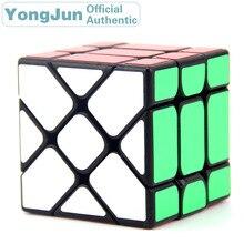 YongJun Flying Edge 3x3x3 Magic Cube YJ 3x3 Professional Neo Speed Puzzle Antistress Fidget Educational Toys For Children yongjun diamond symbol 3x3x3 magic cube yj 3x3 professional neo speed puzzle antistress fidget educational toys for children