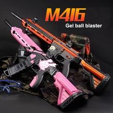 Zhenduo M416 Electric Burst Soft Water Bullets Air Airgun Gel Ball Blaster SniperToy Gun for outdoor hobby цена в Москве и Питере