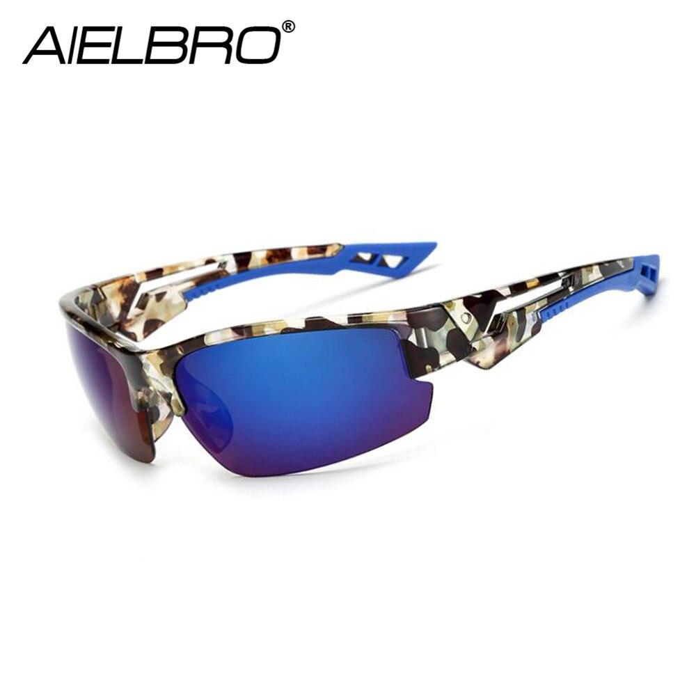 Купить с кэшбэком AIELBRO 2019 New Men Sunglasses Men Brand Designer Male Vintage Sun Glasses Eyewear Gafas de sol Masculino